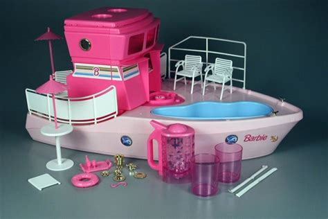 barbie and boat barbie dream boat 1994 with blender barbie pinterest