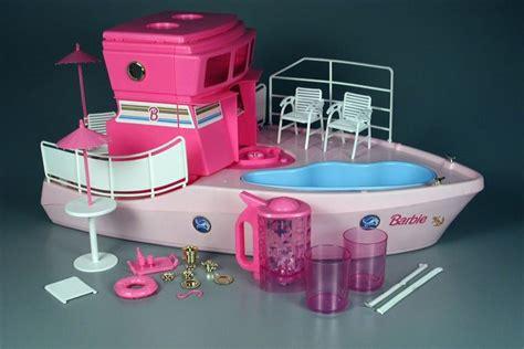 barbie boat barbie dream boat 1994 with blender barbie pinterest