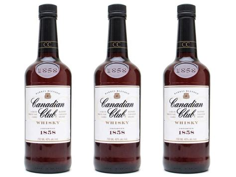 Top Shelf Canadian Whiskey by The Bottom Shelf Canadian Club 6 Year Whisky