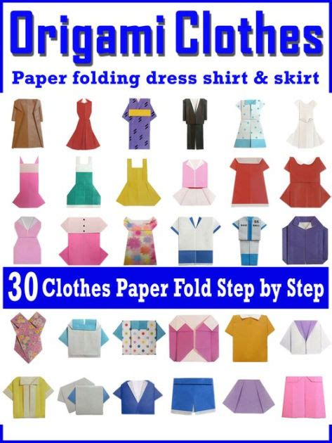 Origami Clothes Folding - easy origami the clothes paper folding clothes dress t