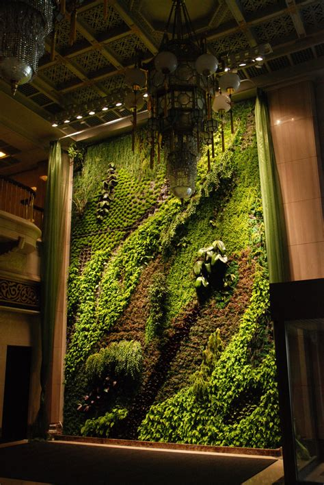 Vertical Gardens Blanc Butterfly National Theater Taipei Vertical