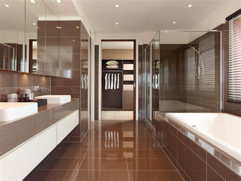 master bedroom with walk in closet and bathroom walk through ensuite to robe modern bedroom ensuite