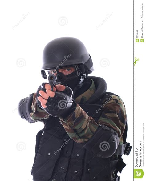 Swat White swat soldier royalty free stock images image 2670099