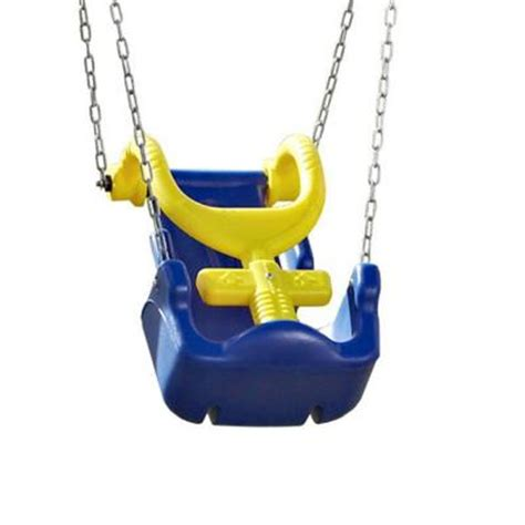 heavy duty swing seat swing n slide playsets adaptive swing seat with chain and