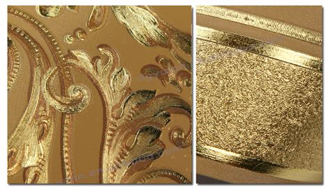 gold wallpaper trim download metallic gold wallpaper borders gallery