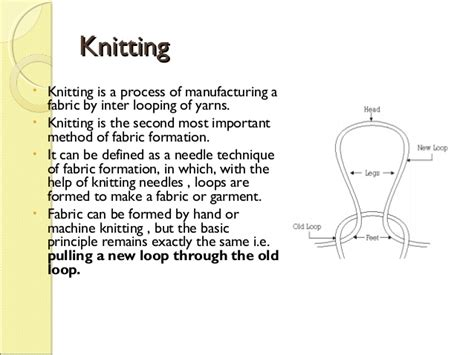 meaning of knits introduction knitting