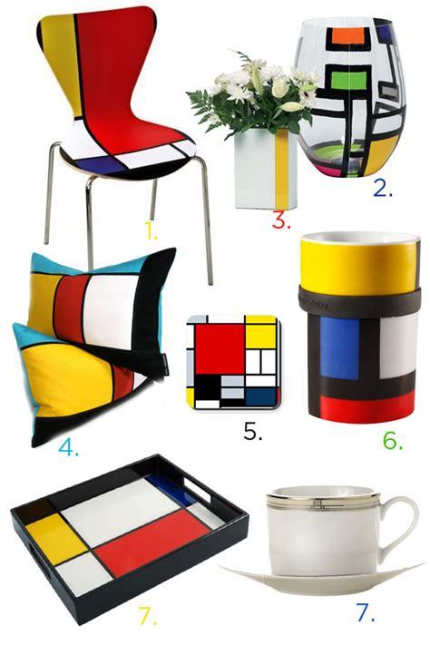 piet mondrian inspiration mondrian inspired home accessories eatwell101
