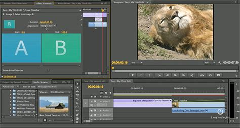 adobe premiere pro description adobe video editing premiere pro cs6 larry jordan