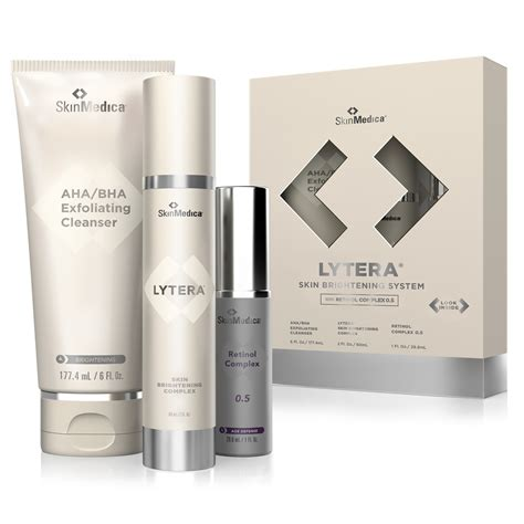 Humairah C Brightening Acne skinmedica lytera skin brightening system time out
