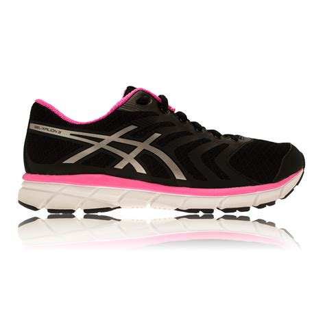 shop asics gel xalion womens running shoes pink black on
