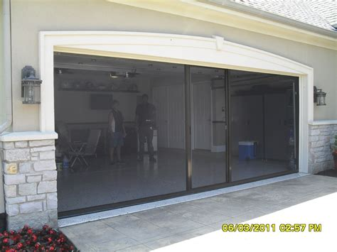 Screen For Garage Door Opening by Garage Screen Doors For Garages Home Garage Ideas