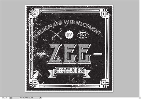 design a label in illustrator create a zee vintage label on illustrator