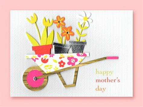 Handmade Mothers Day Card - mothers day greeting card ideas family
