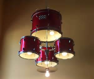 Drum Set Chandelier How To Make A Drum Set Chandelier