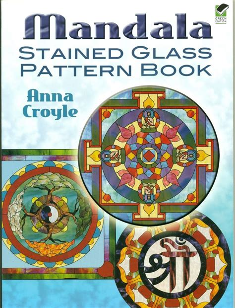 stained glass mandalas an educational coloring book books mandala stained glass pattern book books new 486466051 ebay