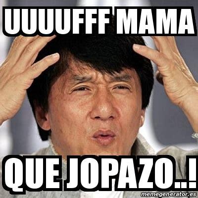 Meme Jackie - meme jackie chan uuuufff mama que jopazo 20823430