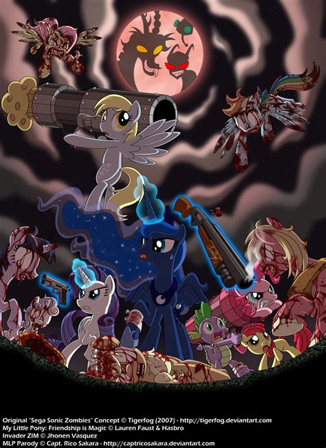 discord zombies image zombie ponies by captricosakara jpg my little