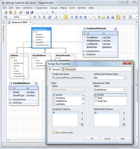 sql database diagrams sql server how to easily work with database diagrams