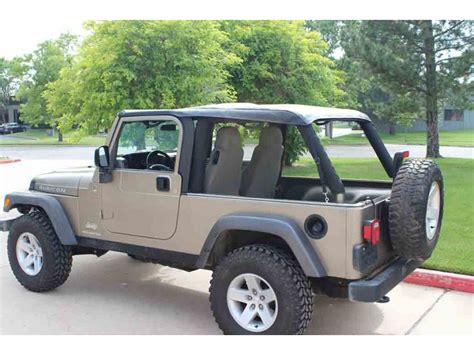 Jeep Wrangler 2004 2006 Unlimited Lj