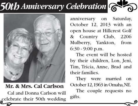How to write a wedding announcement for the newspaper