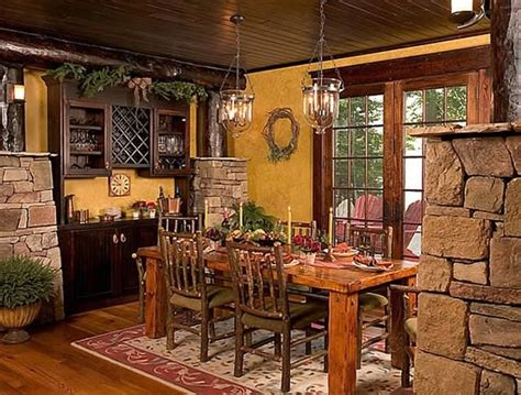 craftsman dining room cottage and lodge style craftsman dining room