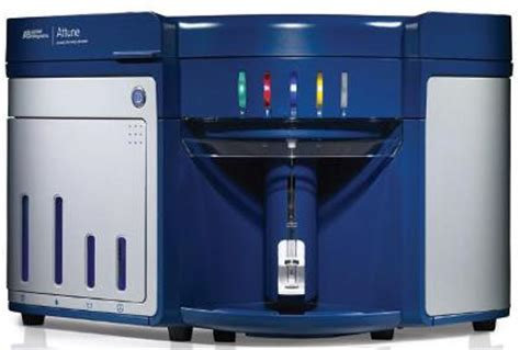 attune acoustic focusing flow cytometer from thermo