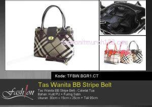 Tas Tenteng Wanita Ungu Pita Slempang Tote Fashion Jalan Mal Impor Pu tas wanita murah bb stripe belt tas wanita murah toko tas