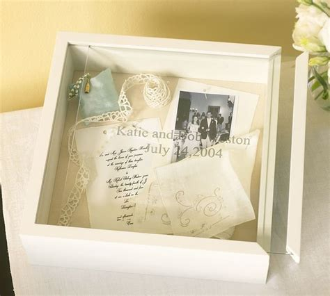Wedding Box Frame Ideas by Wedding Keepsake Box Contemporary Picture Frames By