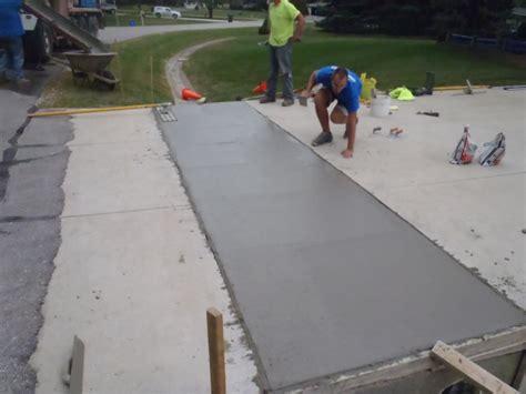 Repair Concrete Patio by Concrete Driveway Repair Services Hartland 2 Mudtech