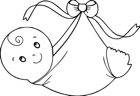 baby coloring pages swaddling clothes baby boy coloring page wecoloringpage