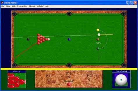 quicksnooker game screenshots  review