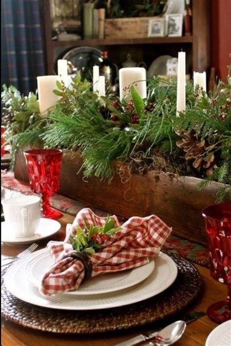 fabulous christmas appealing decorations dining room table 10 fabulous farmhouse style christmas tablescapes black