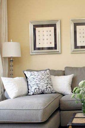 gray sofa yellow walls yellow walls living room grey