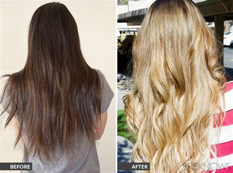 Sprei Honey Volkadot No 1 Fata brown hair to hair before and after