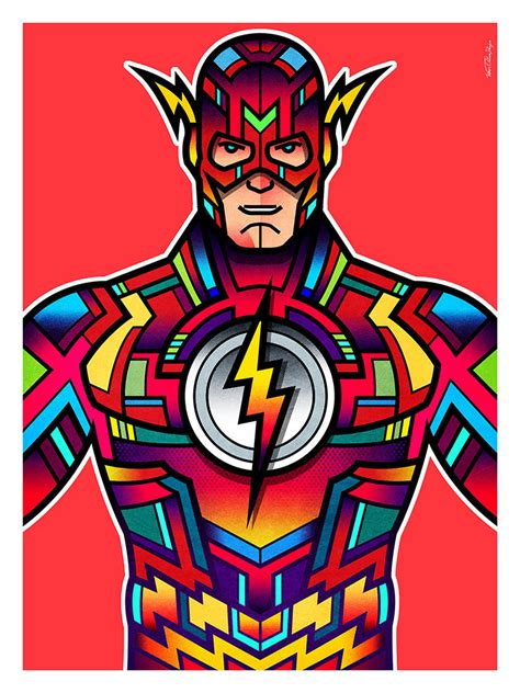 super colorful colorful superhero art by van orton design sci fi design