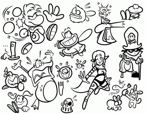 rayman coloring pages rayman legends coloring pages coloring home
