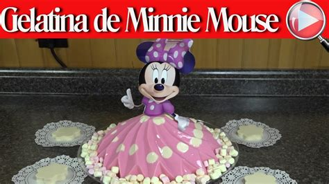 moldes para gelatina de minnie gelatina de minnie mouse de yogurt y tres leches