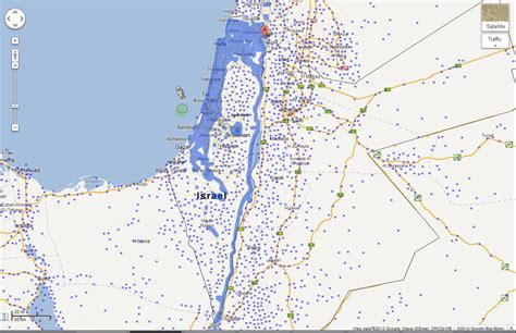 Israel Google | google publishes more street view coverage for israel