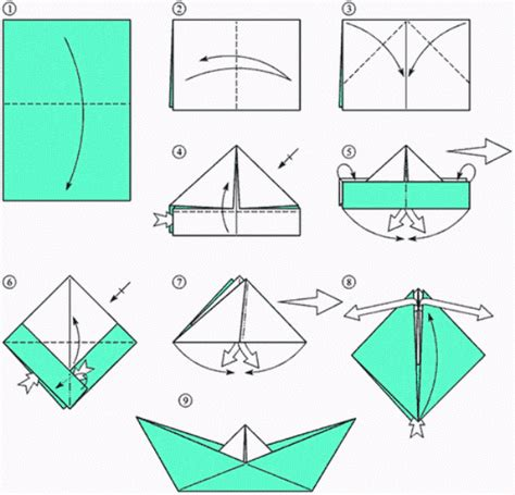 How Do You Make A Paper Boat Step By Step - recycled crafts for how to make paper boat diy is