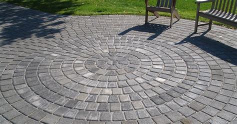 Oxford Circle Pavers Nitterhouse Masonry Circle Paver Paver Patio Kits