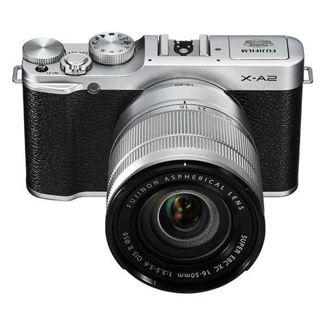 1 Fujifilm X A2 Kit 16 50mm Ois Ii Brown fujifilm x a2 kit 16 50mm ii lens ref