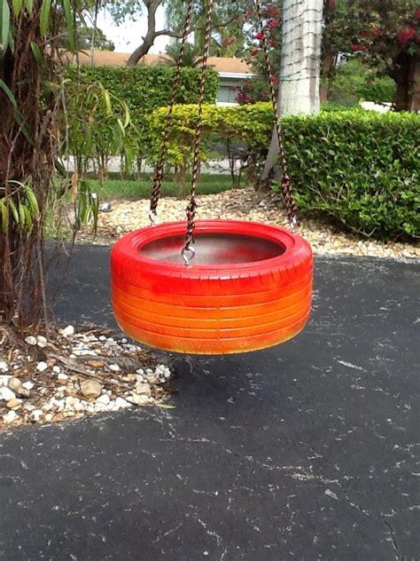 best tire swing 54 best images about tire swings from www cooltireswings
