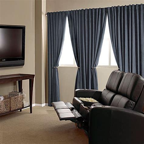 absolute  velvet blackout home theater curtain panels