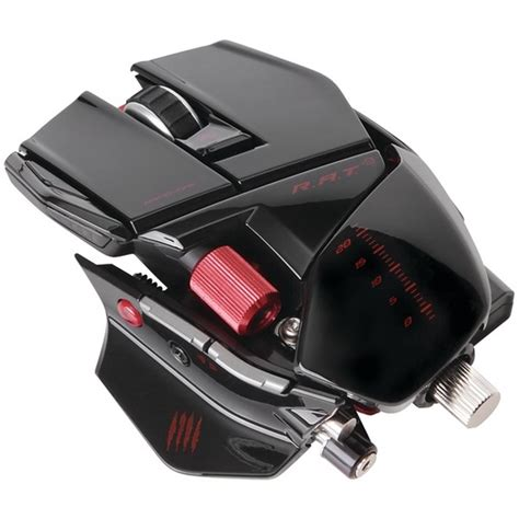 Mad Catz Rat 9 Gaming Mouse mad catz r a t 9 gaming mouse glossblack