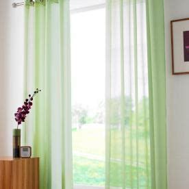 plain lime green curtains plain ring top voile ivory free uk delivery terrys fabrics