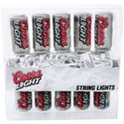 Coors Light Beer Novelty Party Bar String Lights 10 09 2007 Coors Light String Lights