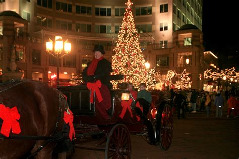 carriage christmas tree lights christmas decor and light