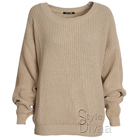 knitted womens jumpers oversized baggy jumper knitted womens sweater