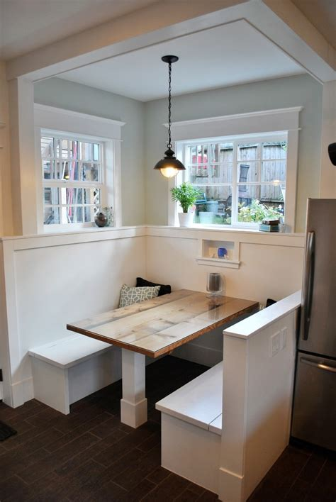 Kitchen Booth Ideas Wonderful Breakfast Nook Table Ikea Decorating Ideas