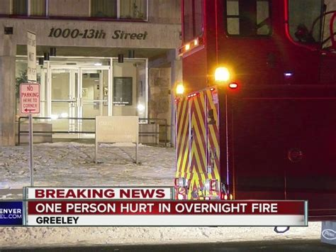 Denver Mattress Greeley Co by Firefighters Pull From At High Rise Apartment In Greeley Overnight Denver7